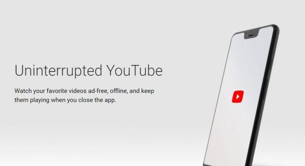YouTube Premium Features