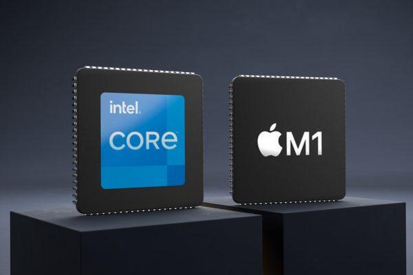 m1 chip vs intel