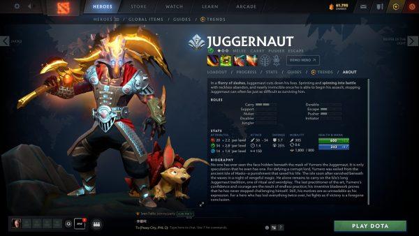 Who Is Juggernaut Dota 2