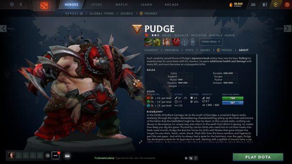 Who Is Pudge Dota 2